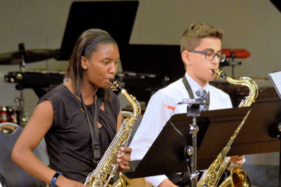 Band+performing+at+concert.