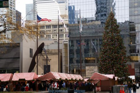 The Christkindlmarket, located in downtown Chicago. Wikimedia Commons.