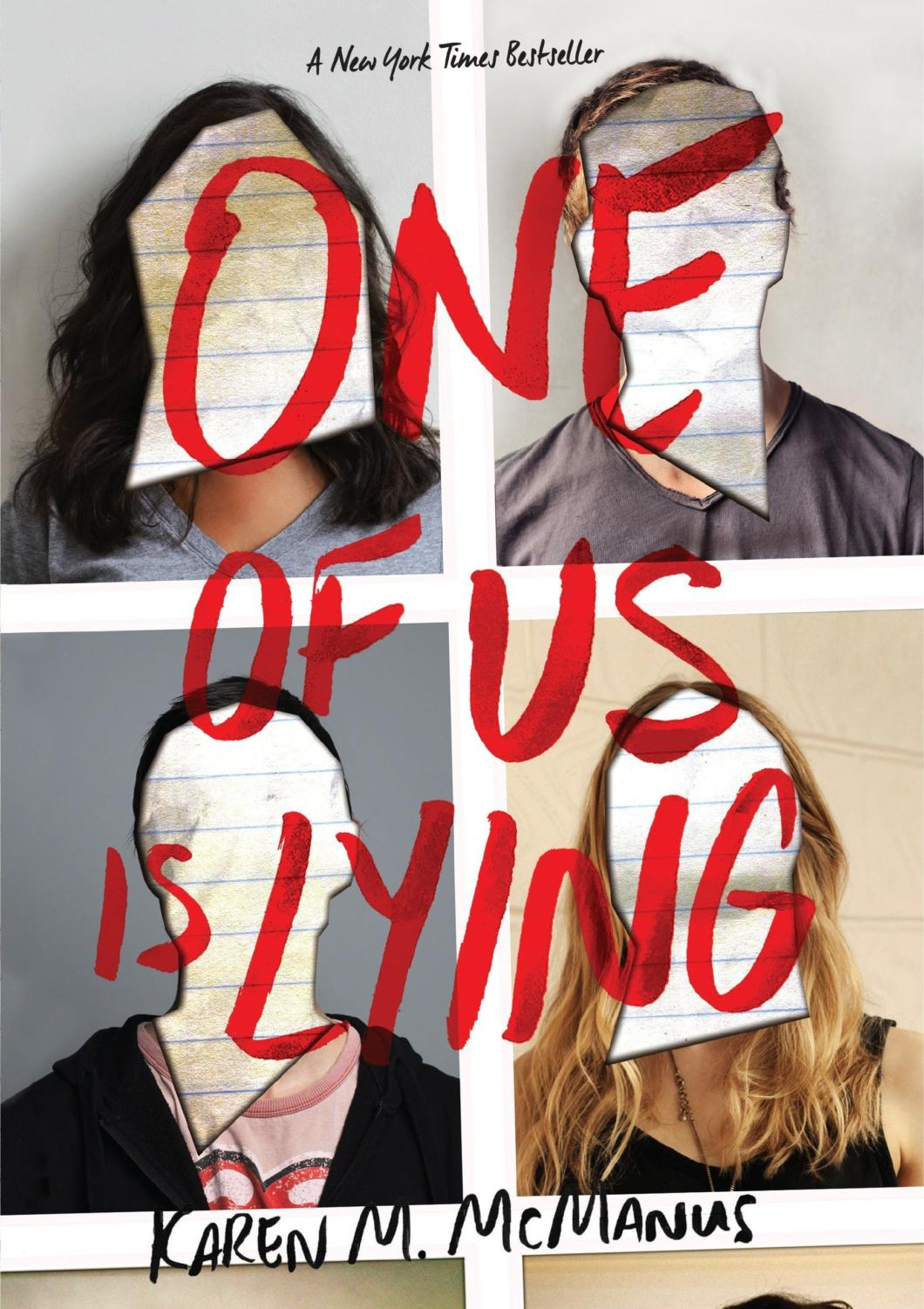 "Cover of ""One of Us Is Lying"". Source: Amazon"