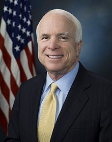 The late Senator John McCain. Courtesy of Wikimedia Commons.