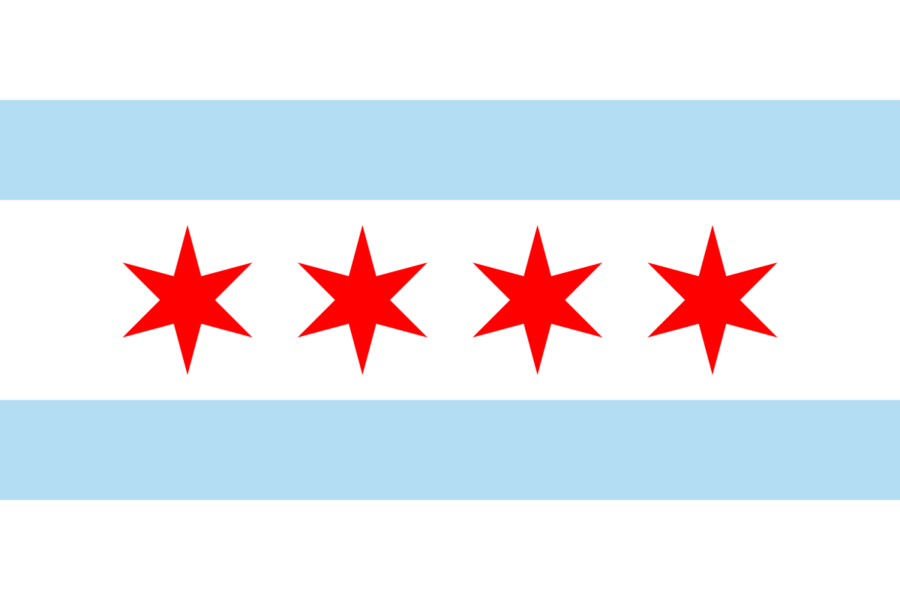 Chicago+flag.+