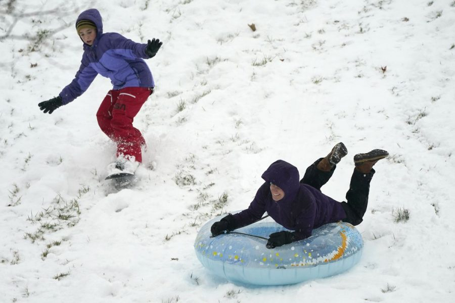 Spending a snow day outside has always been a treasured pastime for many students.